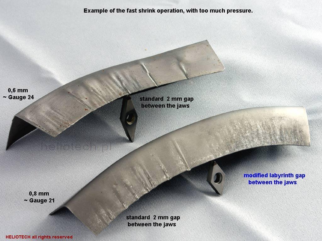 Heliotecheliotech Shrinker Jaws Model Labyrinth Diameter